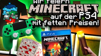 Minecraft kommt auf die PS4: Feiert den Start und gewinnt fette Preise!