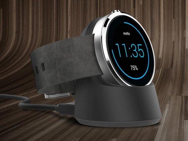 Moto 360: Stylische Android Wear-Smartwatch bereits vorbestellbar [IFA 2014]