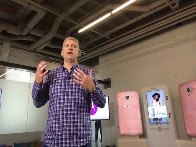 """Motorola-Chef Rick Osterloh: """"Die Tage der 600 Dollar-Smartphones sind gezählt"""""""