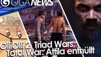 GIGA News: Total War: Attila, OlliOlli 2 und Triad Wars angekündigt & Minecraft-Gewinnspiel