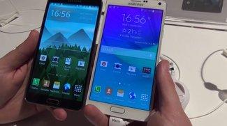 Samsung Galaxy Note 4 vs. Galaxy Note 3: Die vierte Generation lässt den Vorgänger im Videovergleich alt aussehen [IFA 2014]
