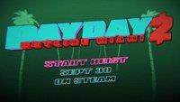 Payday 2: Hotline Miami-DLC im neuen Video angekündigt