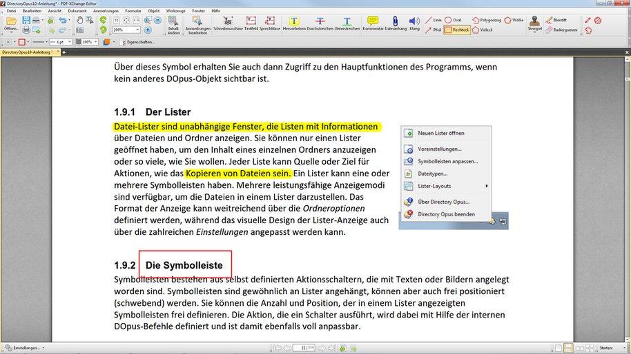 Schnell ein PDF ändern: Mit dem PDF-XChange Editor