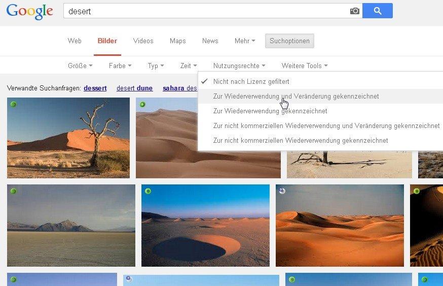 PowerPoint Hintergründe finden wir auch bei Google