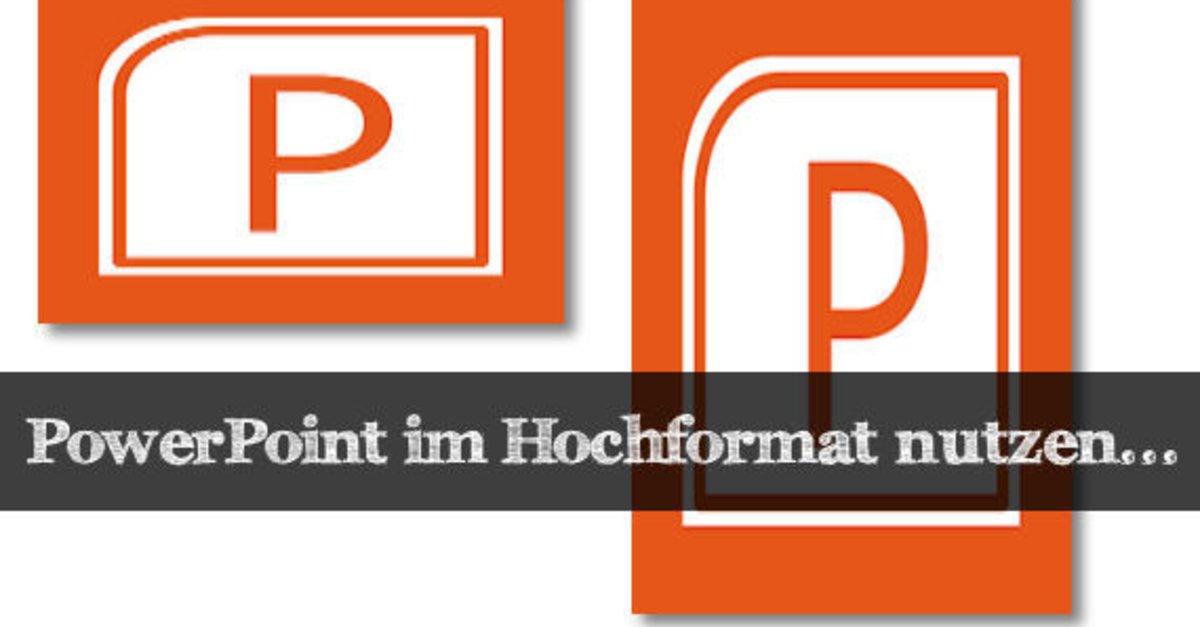 Ziemlich grundlegende powerpoint vorlagen fotos das powerpoint hochformat einrichten officelsung giga ccuart Choice Image