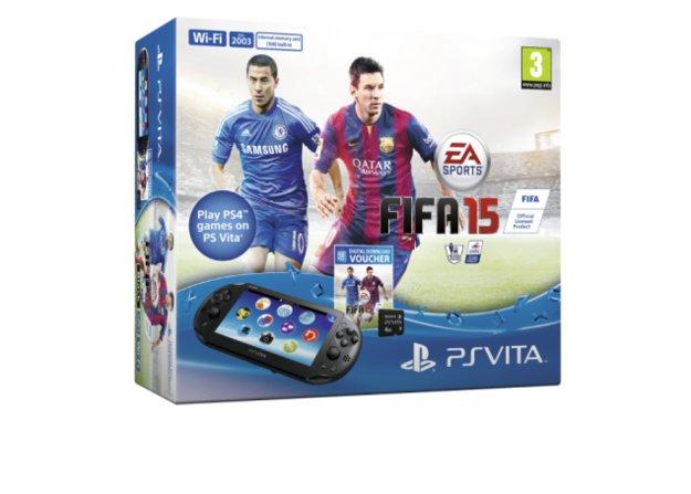 PS Vita: Bundle mit FIFA 15 im Anmarsch