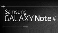 Samsung Galaxy Note 4: Die Neuerungen im Überblick (Infografik)