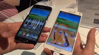 Samsung Galaxy Note 4 vs. Galaxy S5: Videovergleich der Flaggschiffe [IFA 2014]