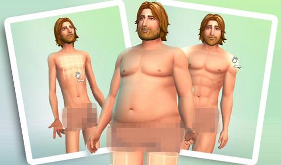 Sims 4 sim nackt