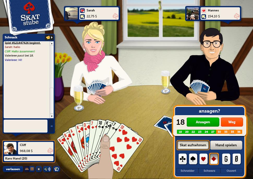 Skat Online Spielen Kostenlos