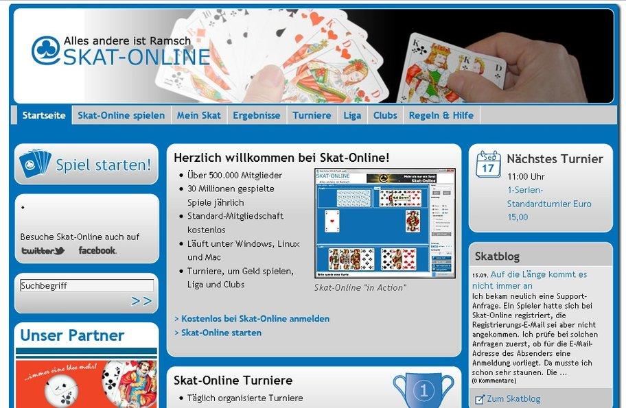 Bei Skat-Online.com ist man Teil einer Riesen-Community