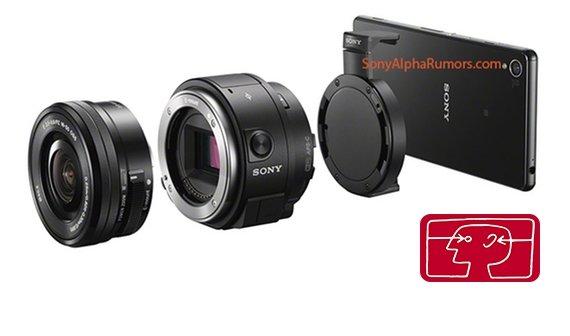 """""""DSLR-Kamera"""" für iPhone und Android: Erste Bilder der Sony QX1"""