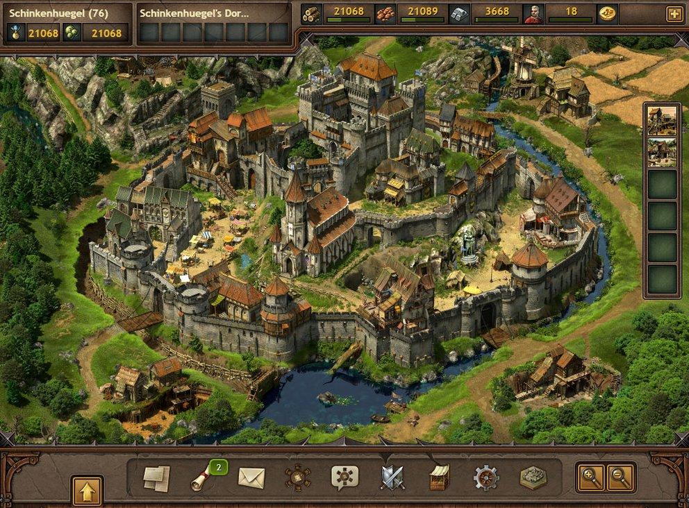 Tribal Wars 2: Die Burg ist Dreh- und Angelpunkt eures Stamms.