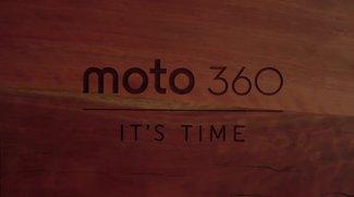 Motorola Moto 360 offiziell vorgestellt: Runde Smartwatch im Detail
