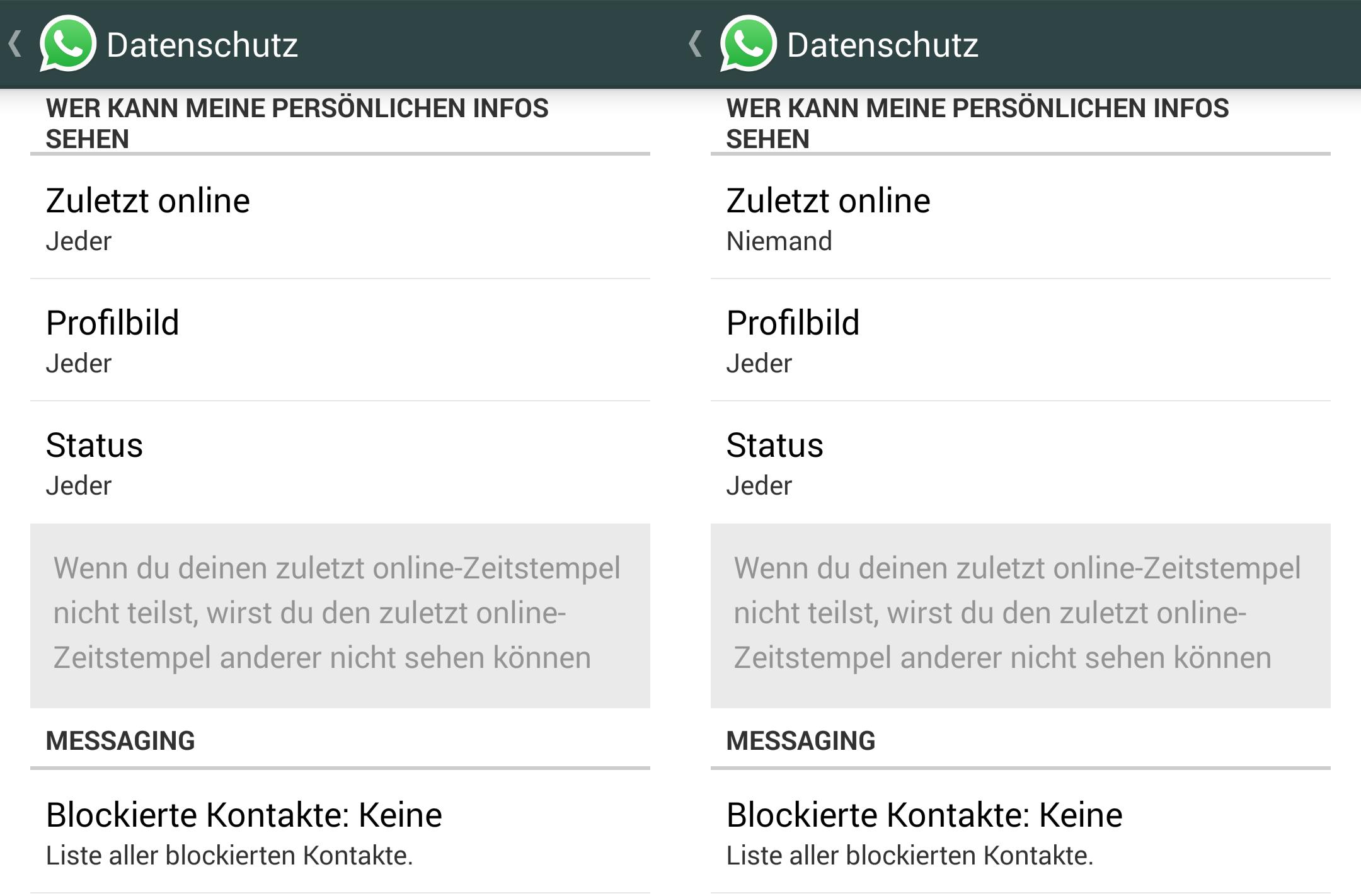 Whatsapp ändert Ungefragt Datenschutzeinstellungen Nach