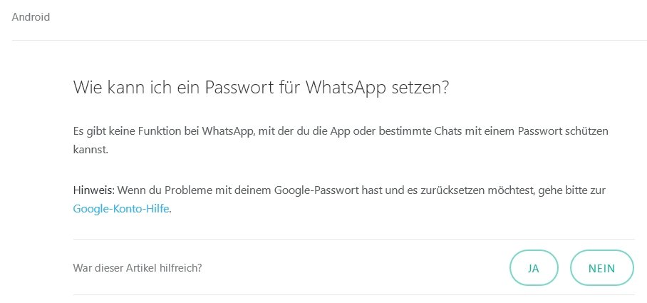 Whatsapp Verlangt Passwort