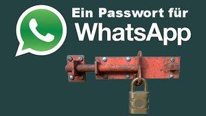 WhatsApp mit einem Passwort schützen – so geht's