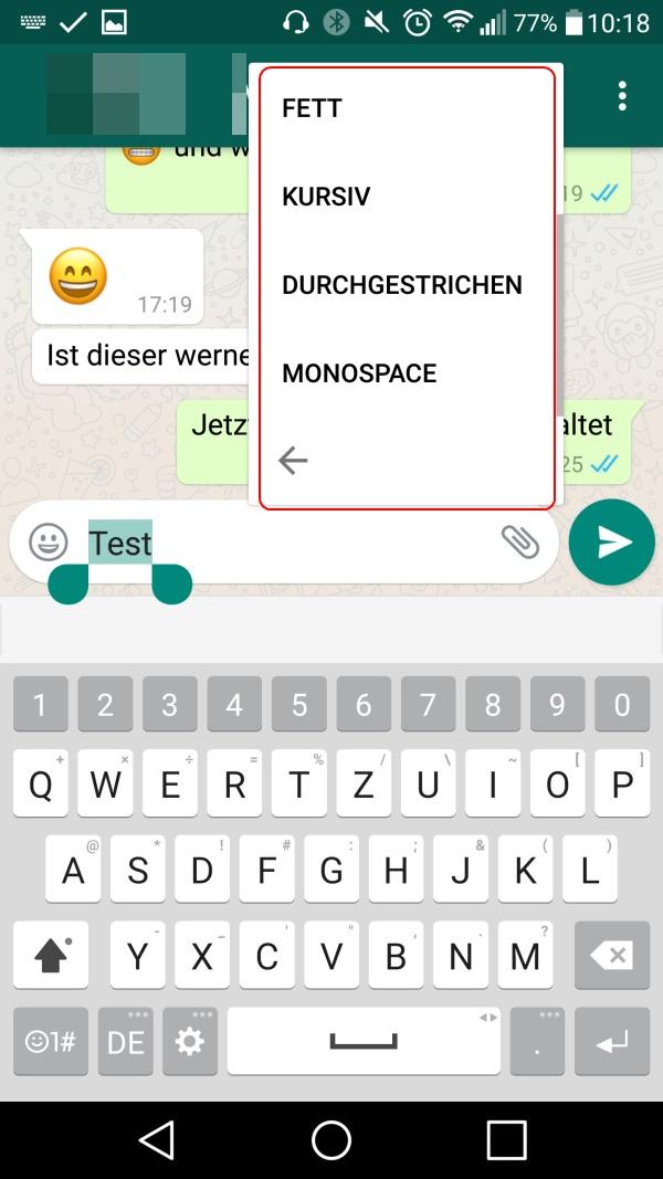 Whatsapp Schriftart Und Schriftgröße ändern Android Iphone