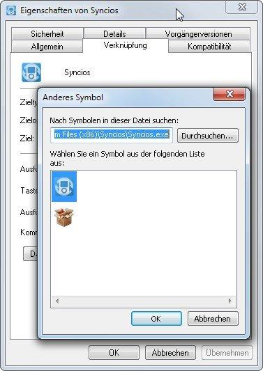 Einige Programme bringen gleich mehrere Windows-Icons mit
