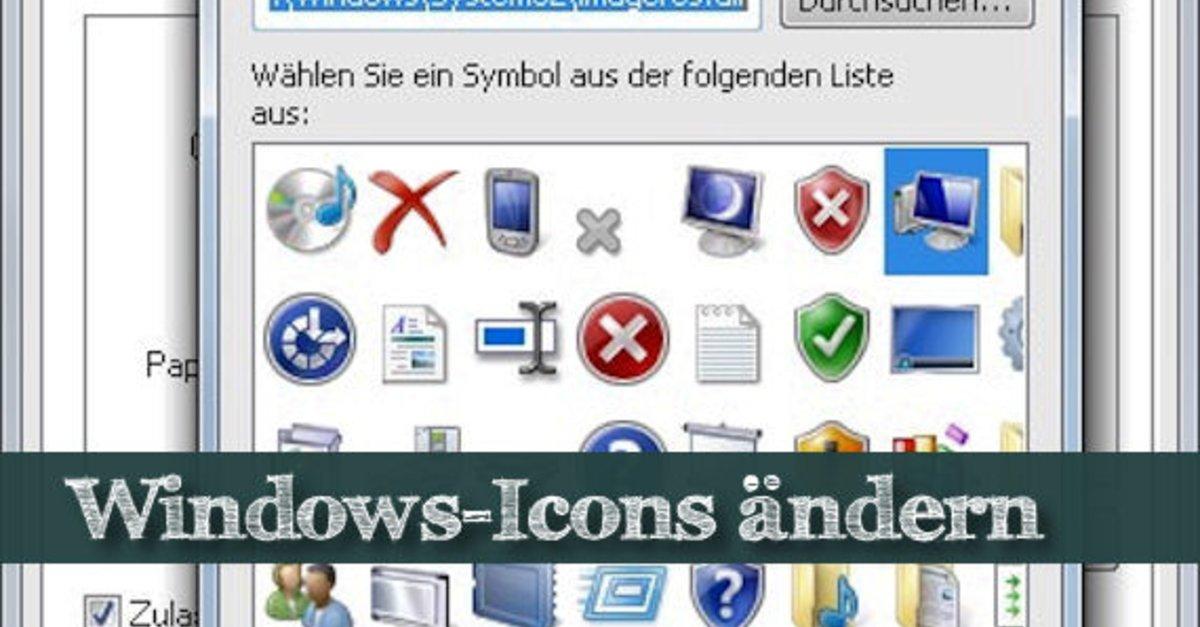Windows Icons ändern, anpassen, ausblenden – Die besten Tricks – GIGA