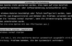 Windows startet nicht –...