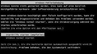 Windows startet nicht – Ursachen und Lösungen