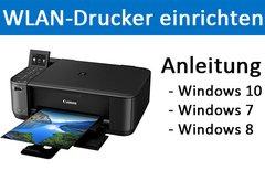 WLAN-Drucker einrichten – So...