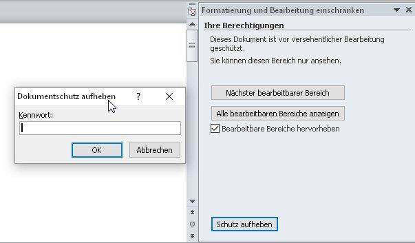 word-schreibschutz-aufheben-passwort