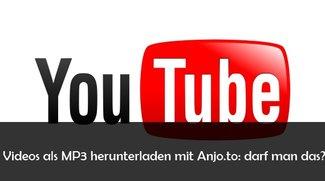 Anjo.to: YouTube Videos in MP3 umwandeln und herunterladen – ist das legal?