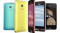 ASUS ZenFone & PadFone bekommen Android 5.0 Lollipop