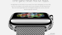 Apple Watch: So könnten die Apps auf der Uhr aussehen