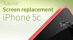 iPhone 5c screen replacement: Detailed photo guide