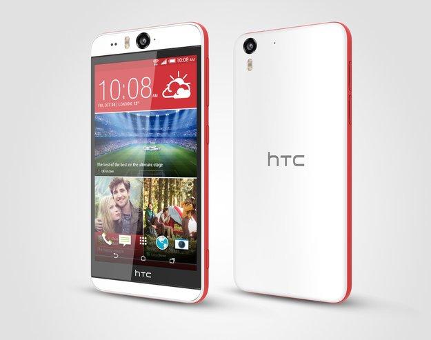 HTC Desire Eye: Selfie-Phone ab sofort bei Amazon erhältlich&#x3B; Re Camera vorbestellbar