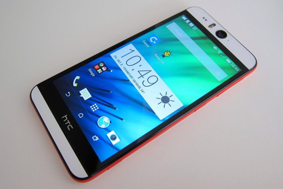 HTC Desire Eye: Peppiges Selfie-Smartphone vorgestellt und im Hands-On-Video