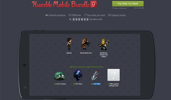 Humble Mobile Bundle 9: Leo's Fortune und 5 weitere tolle Spiele