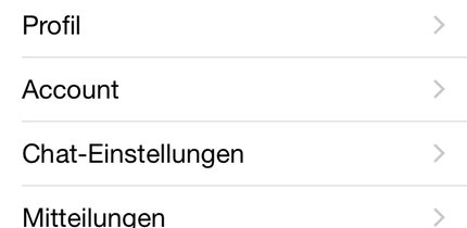 WhatsApp-Ton in iOS ändern
