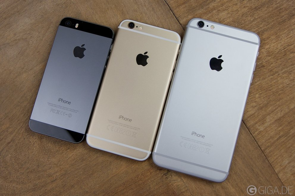 iPhone 5s - iPhone 6 - iPhone 6 Plus