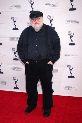 LOS ANGELES - MAR 19 George R.R. Martin arrives at An Evening with The Game of Thrones at the Chinese Theater on March 19, 2013 in Los Angeles, CA