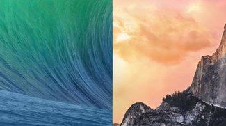 Yosemite auf einem Achtel der Macs in Nordamerika