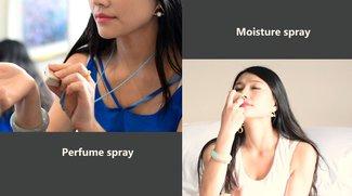 Mist Shine: Das Wearable, mit dem Ihr Anrufe & Co. riechen könnt