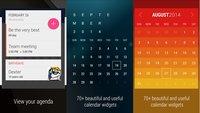 Month: Schickes Kalender-Widget mit vielen Designs heute kostenlos
