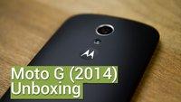 Motorola Moto G (2014): Erster Eindruck des 5-Zöllers (Unboxing)