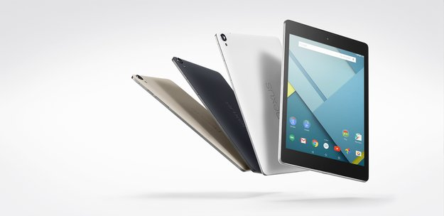 Nexus 9: Google-Tablet mit Metallrahmen, BoomSound & Android 5.0 Lollipop vorgestellt