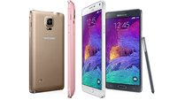 Samsung Galaxy Note 4 - Erster Eindruck: Endlich, Samsung!
