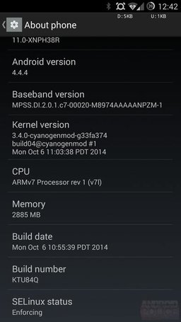 OnePlus-One-XNPH38R-Update-settings