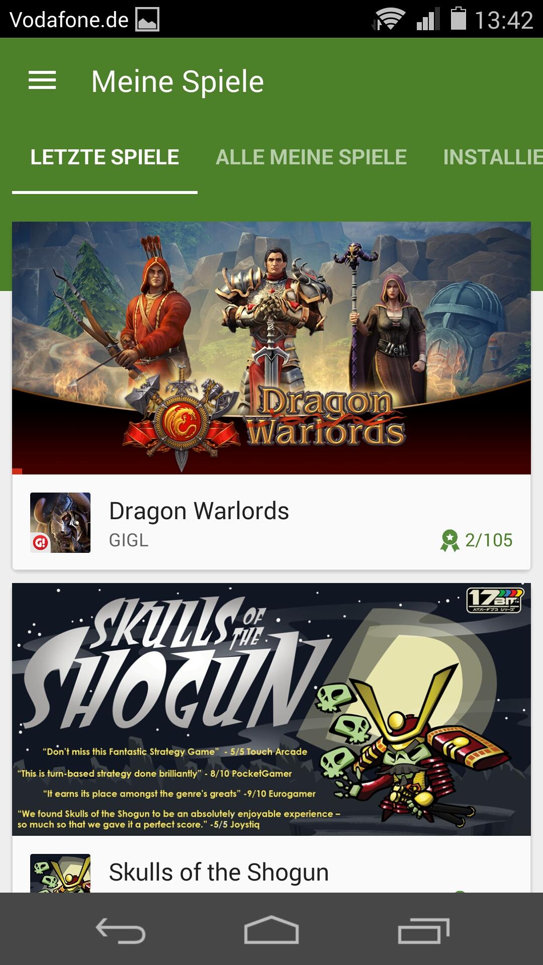 Play Spiele App