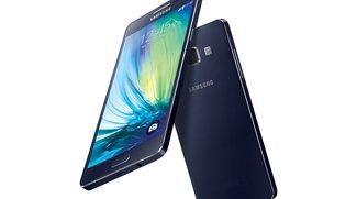 Samsung Galaxy A3 &amp&#x3B; A5: Dünne Edel-Smartphones im Metallgehäuse offiziell vorgestellt