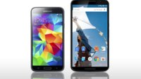 Samsung Galaxy S5 vs. Google Nexus 6: Die Daten im Vergleich