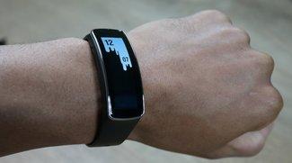 Samsung Gear Fit Erfahrungsbericht: Leider noch zu unzuverlässig