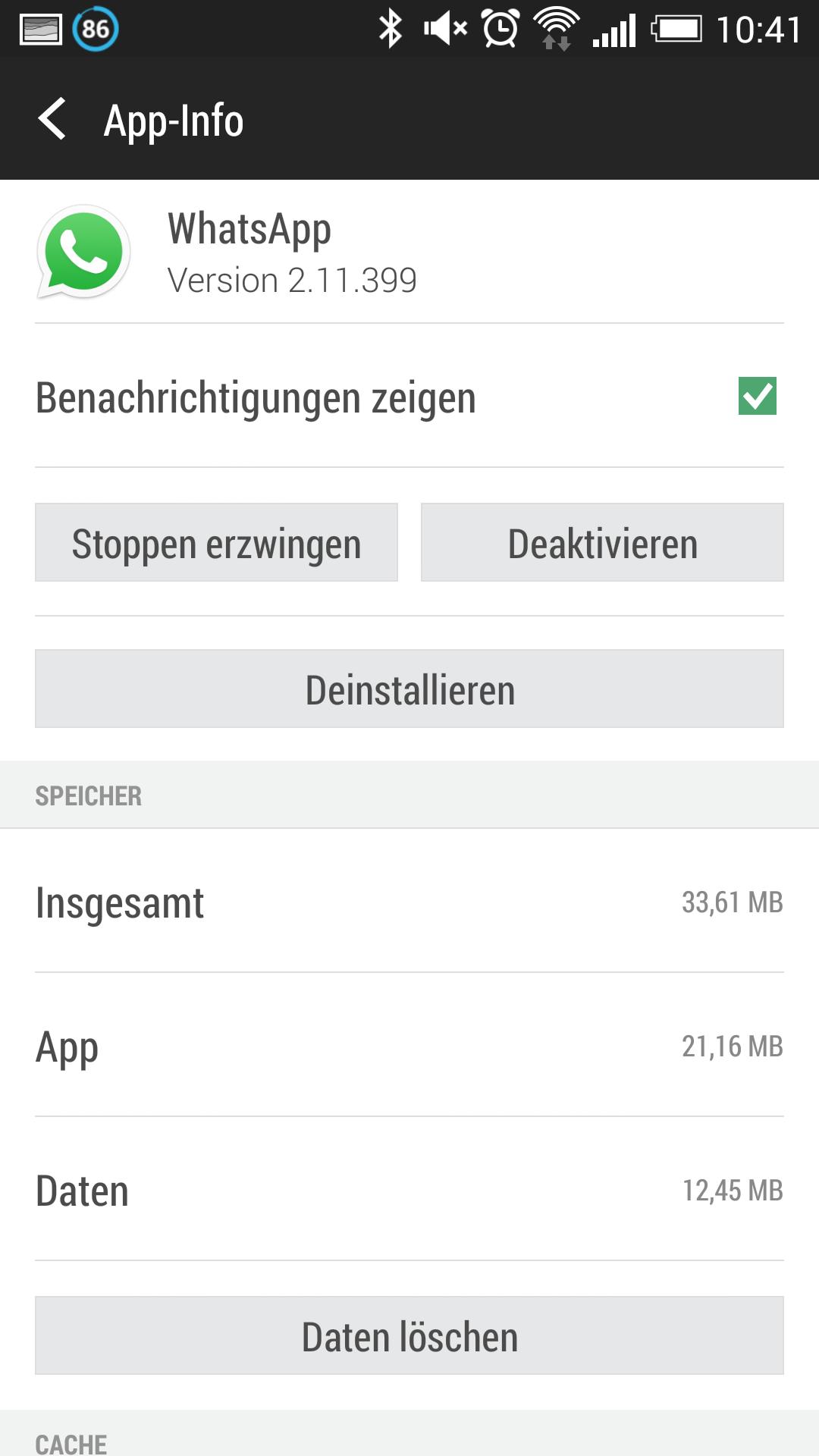 WhatsApp Speicher voll: Daten löschen am iPhone & Android